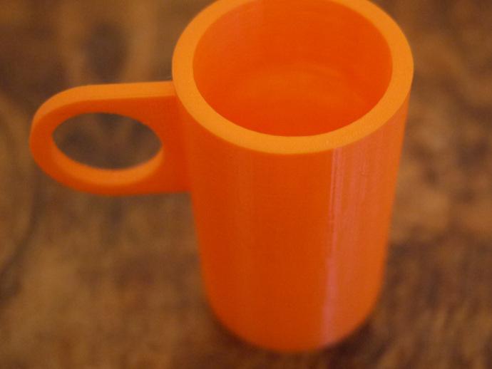 定制化茶杯 3D打印模型渲染图