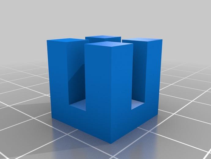 定制模块化俄罗斯方块形架