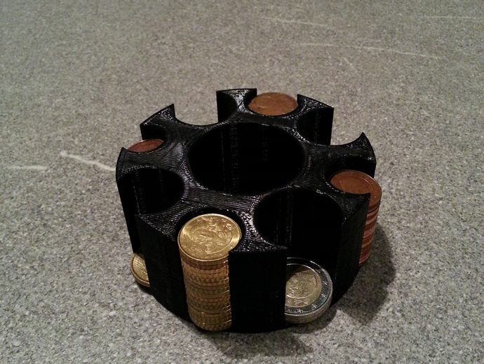 迷你硬币架