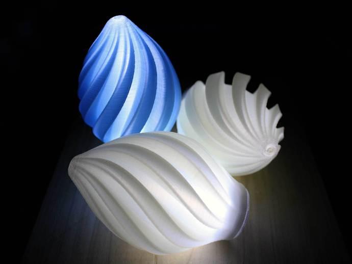 个性化螺旋灯罩