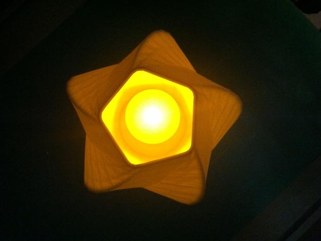 五边形灯罩/花瓶