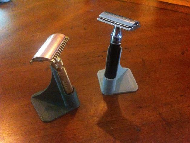 剃须刀架 3D打印模型渲染图