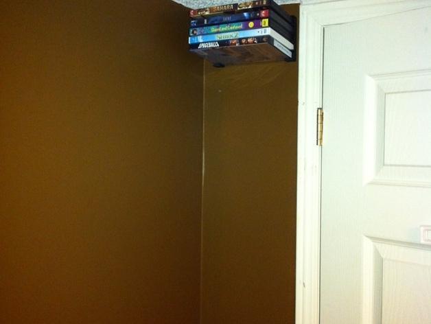 壁挂式DVD架