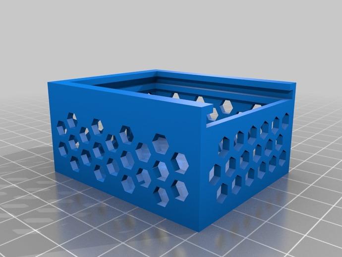 六边形镂空小盒