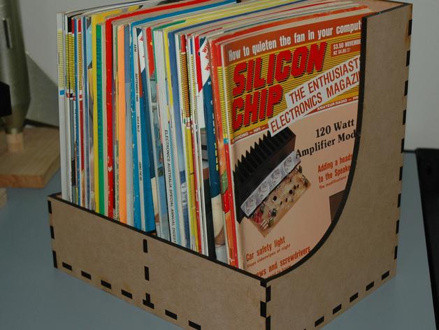 杂志盒 3D打印模型渲染图