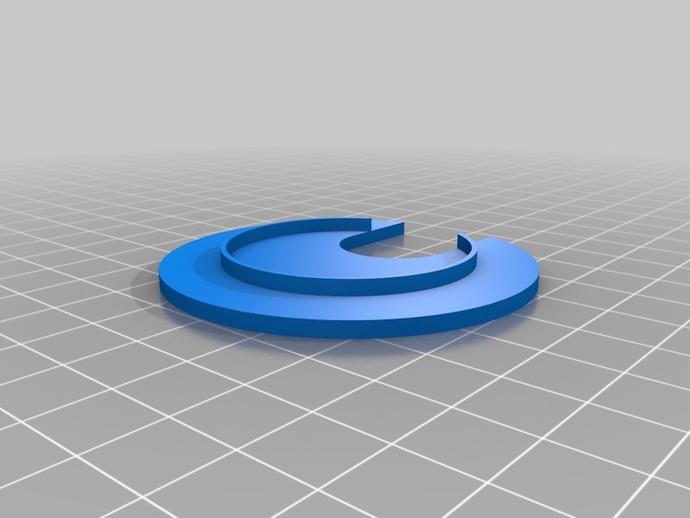 圆形接线口