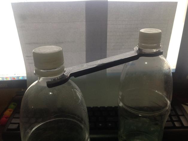 苏打水瓶架 3D打印模型渲染图