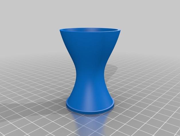 定制化花瓶 3D打印模型渲染图