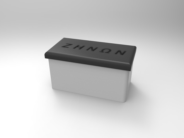 简易存储盒 3D打印模型渲染图