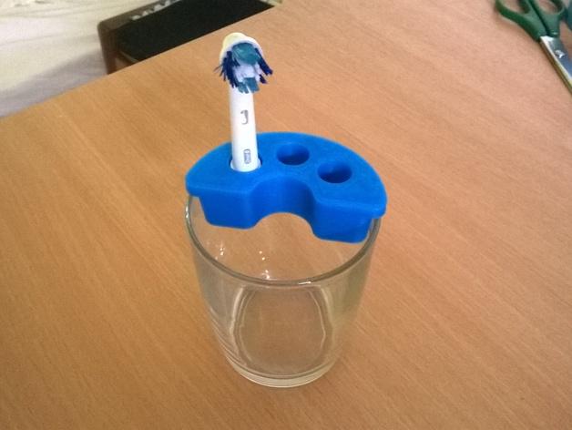 博朗电动牙刷架