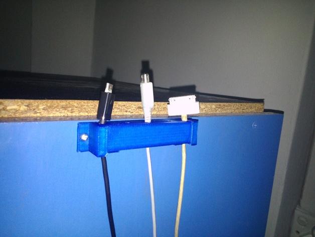 电线电缆夹 3D打印模型渲染图