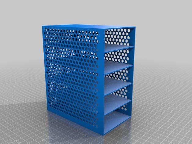 定制化抽屉 3D打印模型渲染图