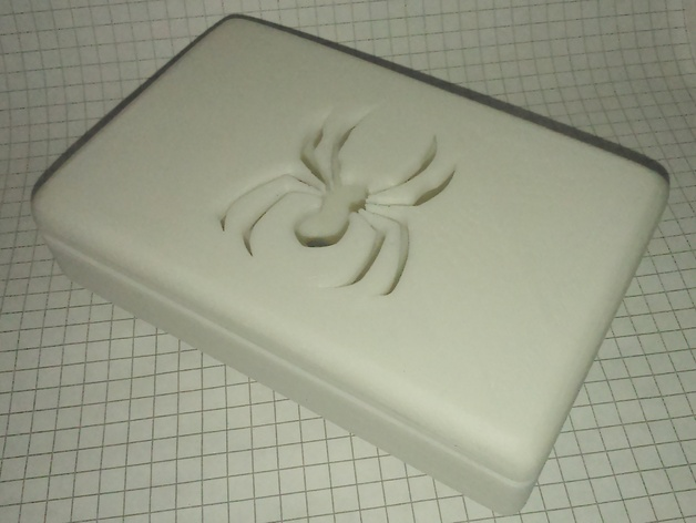 蜘蛛形肥皂盒 3D打印模型渲染图