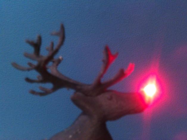 麋鹿雪橇形LED灯