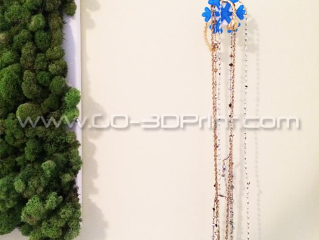 雪花形珠宝架