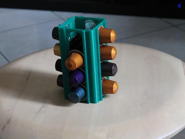 雀巢胶囊咖啡架 3D打印模型渲染图