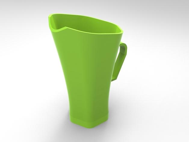 Cofi咖啡杯 3D打印模型渲染图