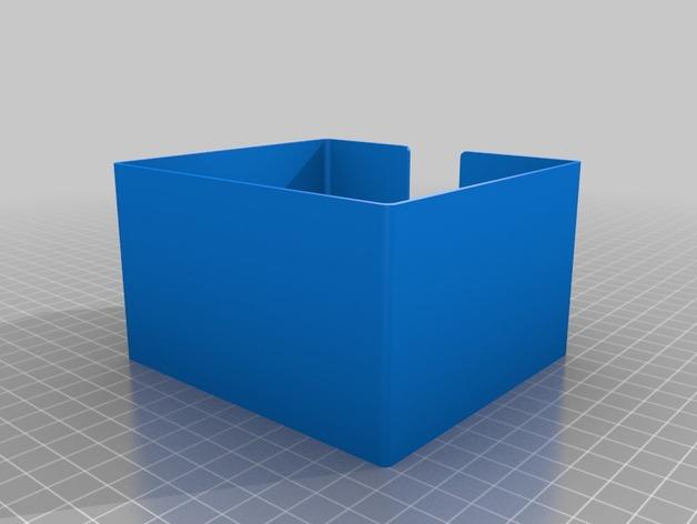 方形杯垫收纳盒