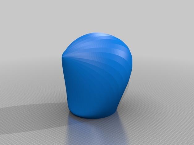 海贝形灯罩
