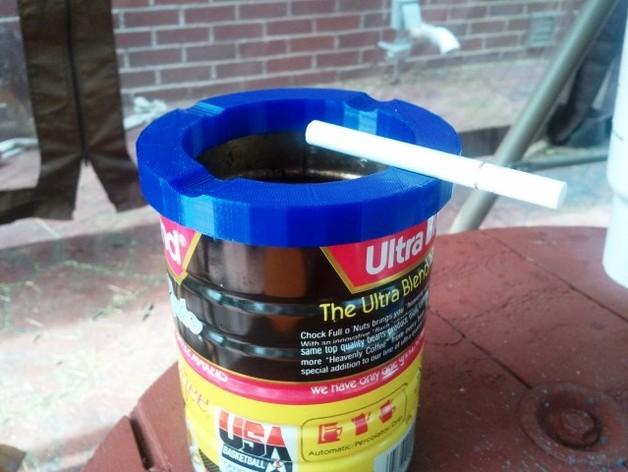 个性化咖啡罐烟灰缸
