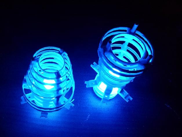 个性化圆形灯罩 3D打印模型渲染图