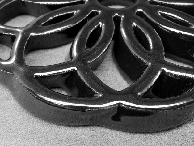 圆环形装饰品