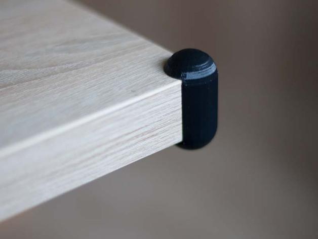 桌角保护套 3D打印模型渲染图