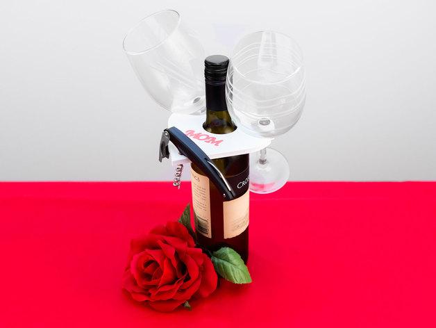 多功能玻璃酒杯架
