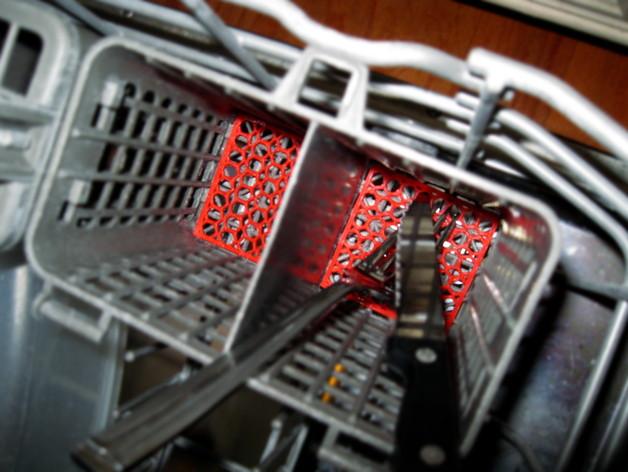 洗碗机银制餐具过滤器