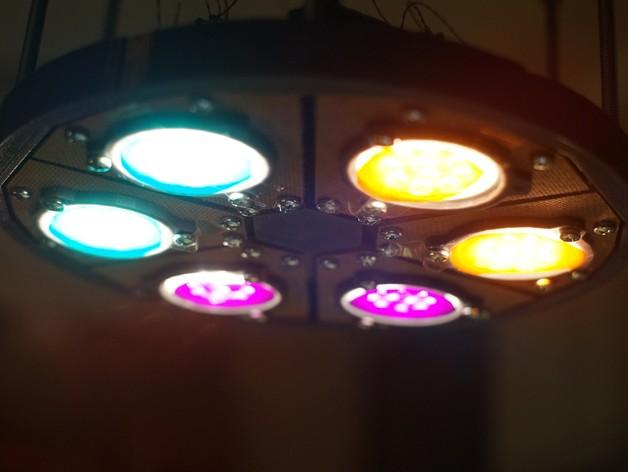 太阳能植物台灯