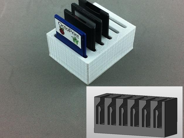 弹簧装置的SD卡卡槽