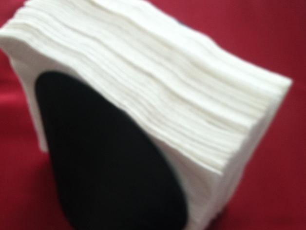 定制纸巾架 3D打印模型渲染图