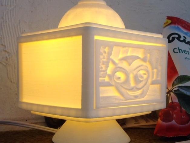 灯饰发光盒