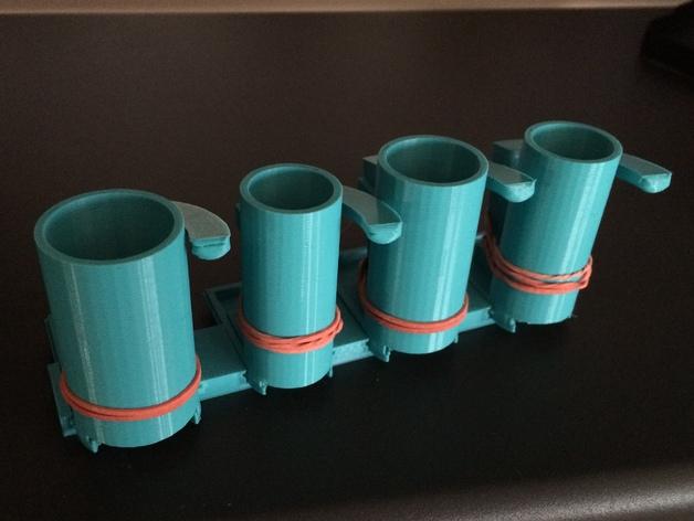 硬币分发器 3D打印模型渲染图