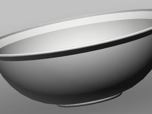 碗 3D打印模型渲染图