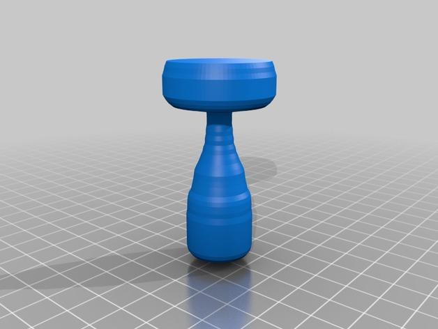 咖啡压粉器  3D打印模型渲染图