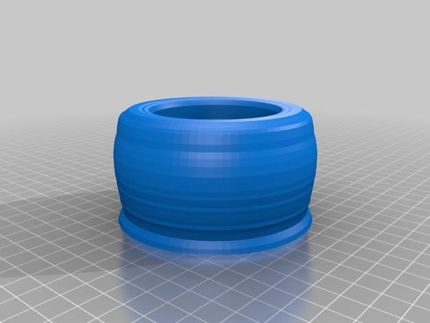 研钵和研杵 3D打印模型渲染图