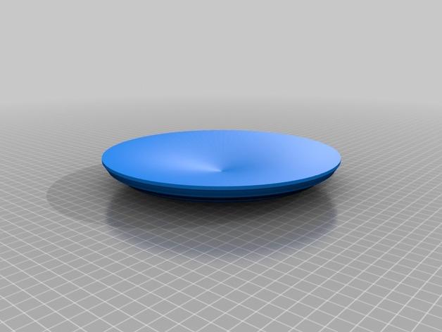 盘子 3D打印模型渲染图