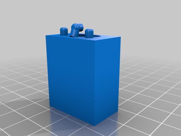 迷你洗涤槽 3D打印模型渲染图