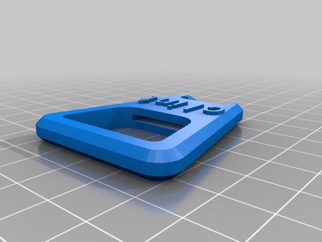 开瓶器 3D打印模型渲染图