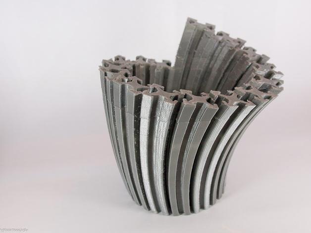Makerbeam花瓶