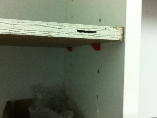 置物架/书柜固定夹