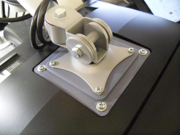 显示器底座配适器 3D打印模型渲染图