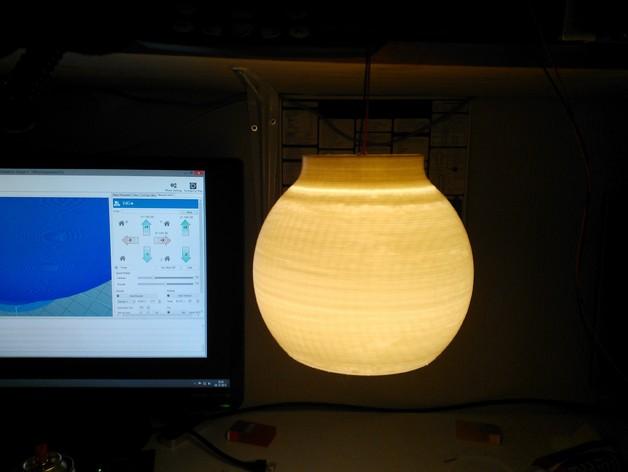 荷兰古典灯罩 3D打印模型渲染图