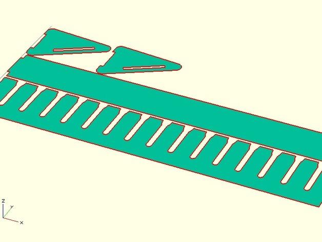定制化激光切割电缆支架