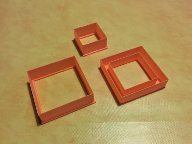 正方形饼干制作模具