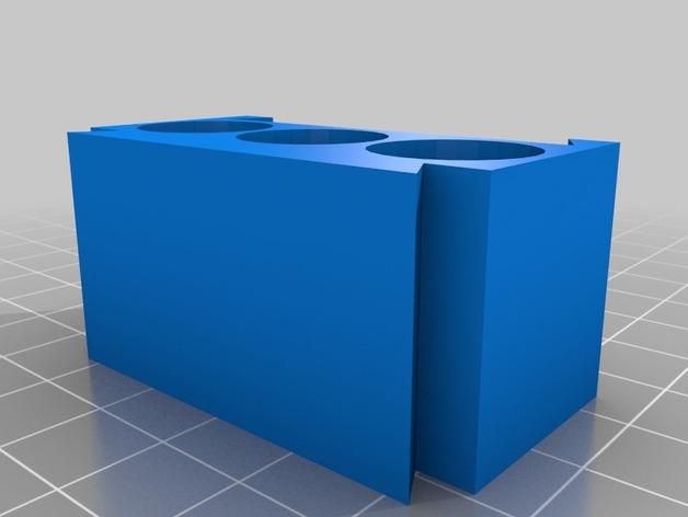 AA模块化电池盒
