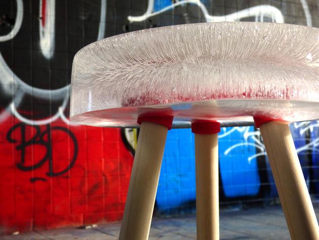 参数化凳子 3D打印模型渲染图