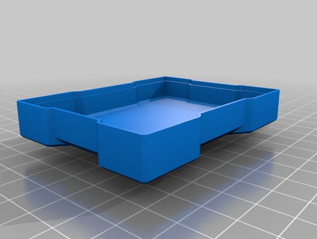 X方形小盒