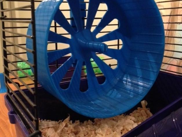 宠物仓鼠 滚动轮 3D打印模型渲染图